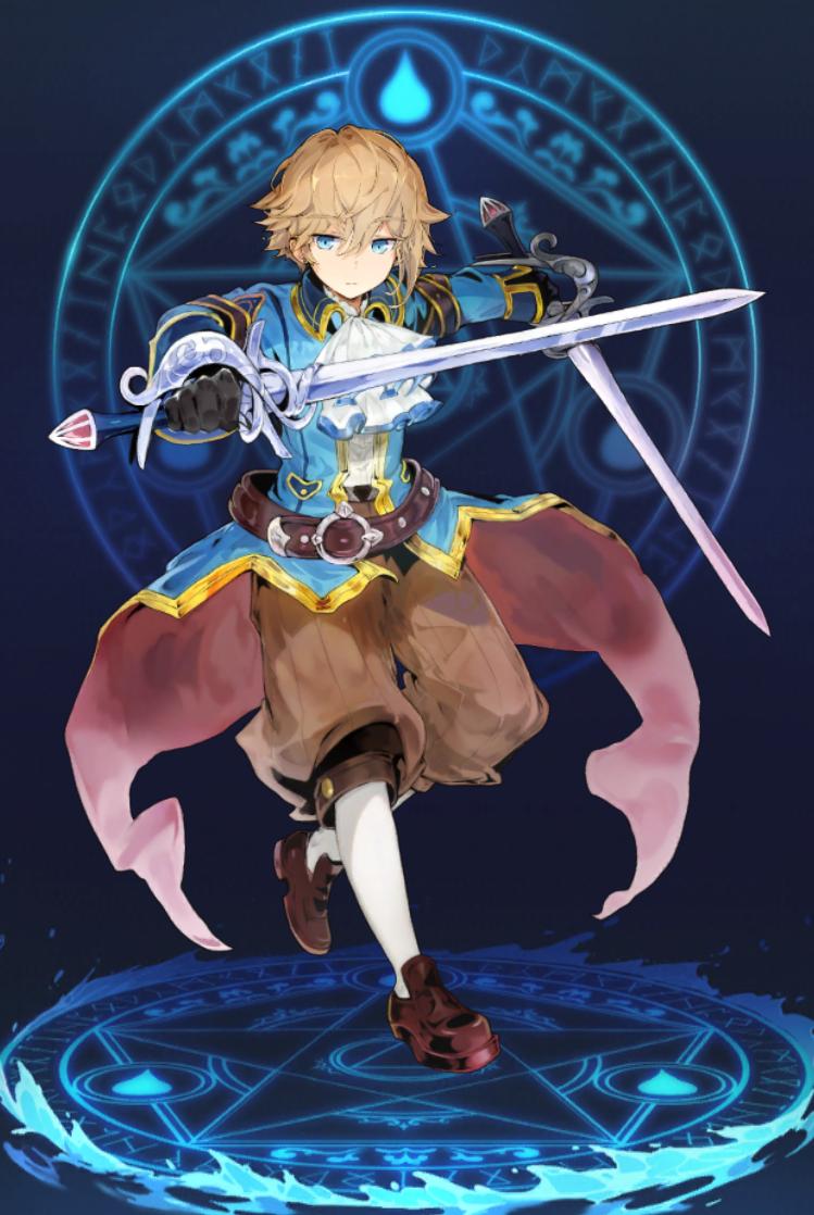 双剣の騎士ジェイル