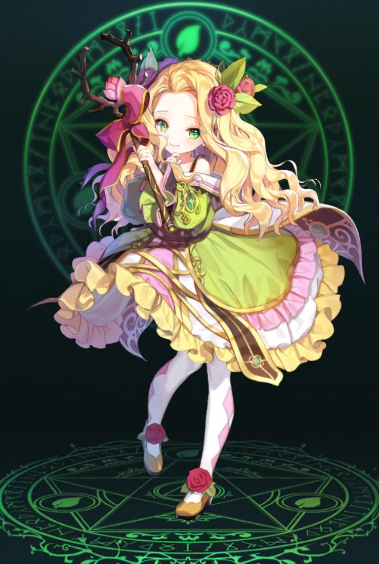 見習い花の侍女ニーナ
