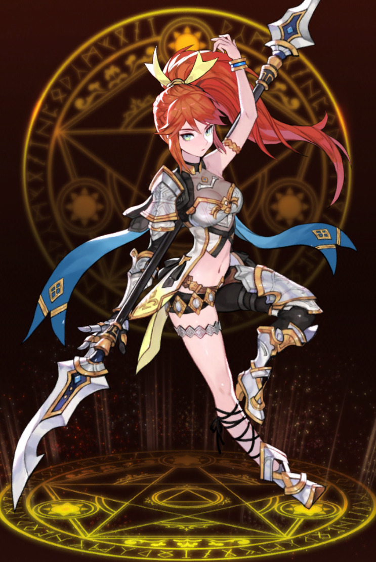 魔女の騎士シルファ