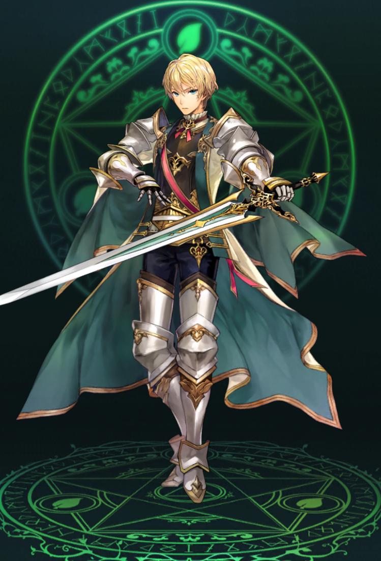 騎士団の若き新星イアン
